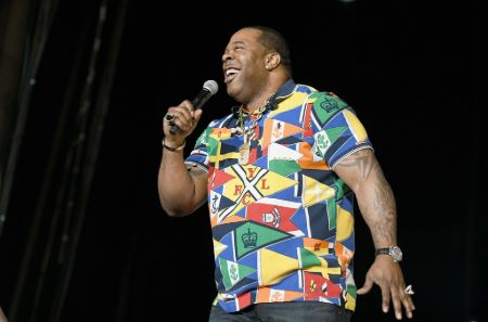 Busta Rhymes is also an avid collector of designer sneakers.